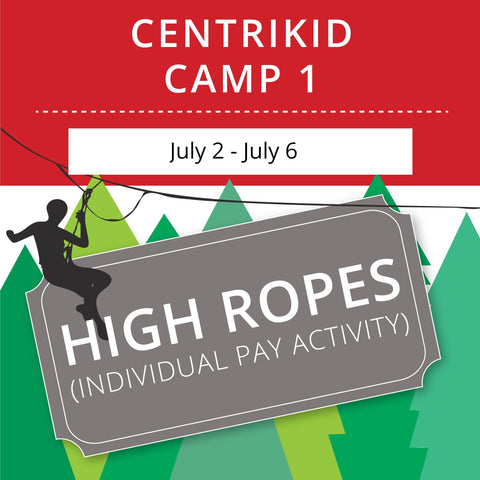 CentriKid Camp 1 - High Ropes