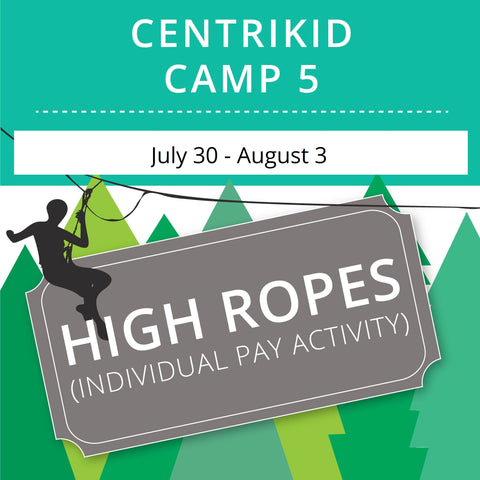 CentriKid Camp 5 - High Ropes