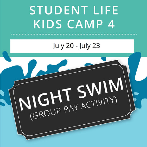 Student Life For Kids Camp 4 -  Night Swim (Group Activity)