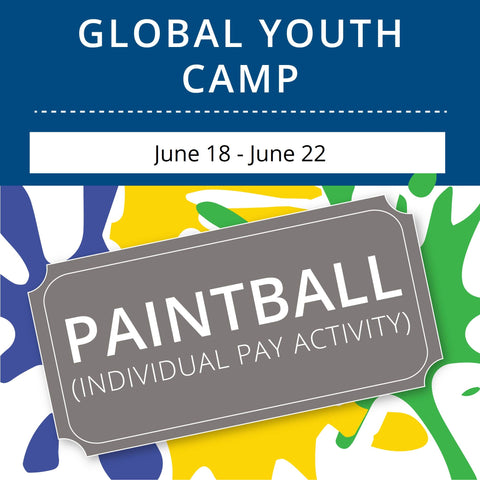Global Youth Camp- Paintball