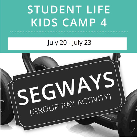 Student Life For Kids Camp 4 - Night Segways (Group Activity)