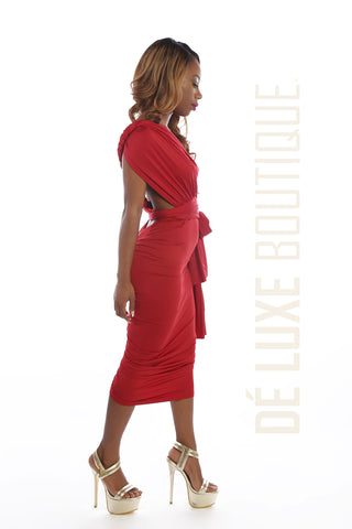Convertible Multiway Midi Dress