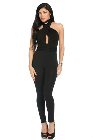 Multiway Sleeveless Jumpsuit