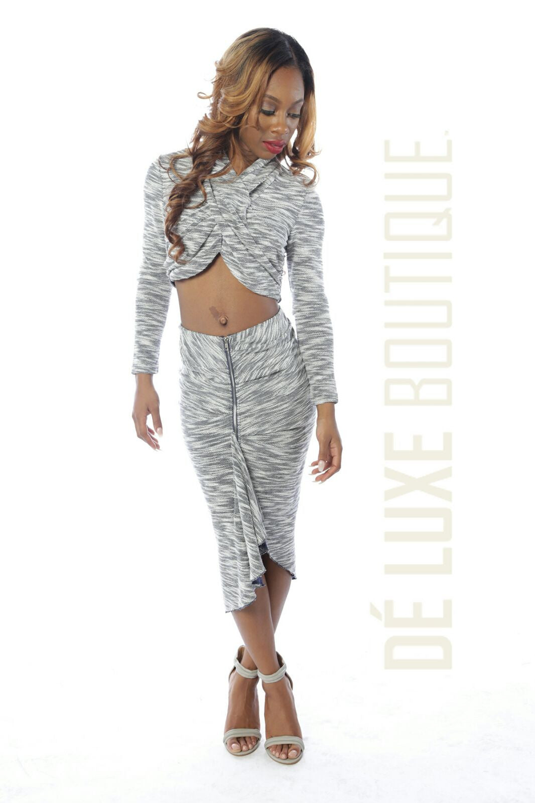 Wrap Me Around Skirt Set - The Dé Luxe Boutique