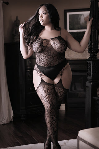 Nights Like This Bodystocking - Kelly's Kloset