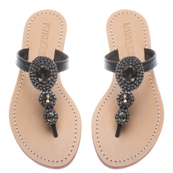 Black Tier - Mystique Sandals