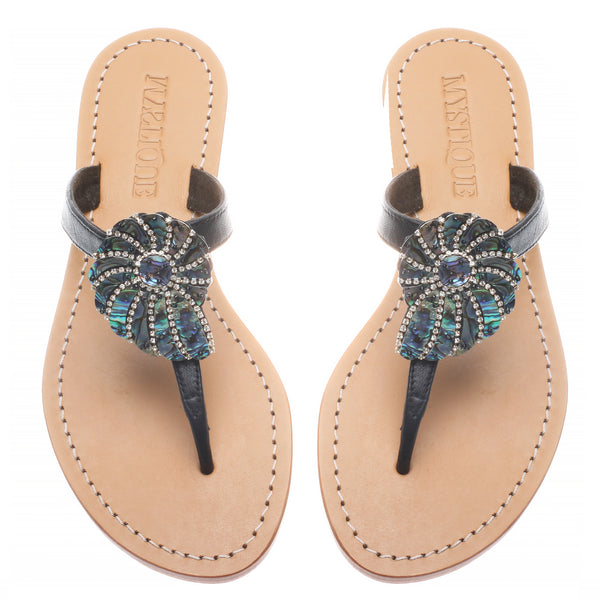 Abalone Seashell - Mystique Sandals