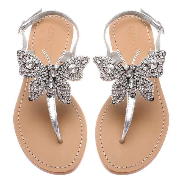 Clear Butterfly - Mystique Sandals