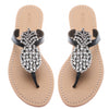 Clear Pineapple - Mystique Sandals
