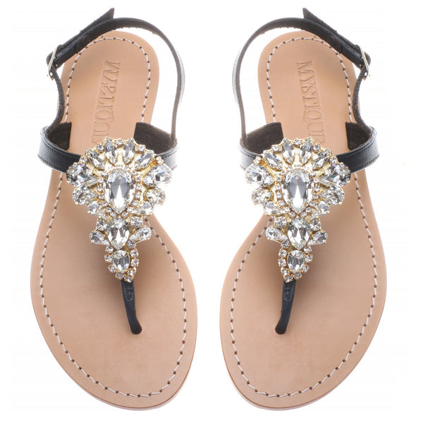 Gold Teardrop - Mystique Sandals