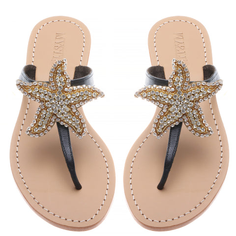 Gold Starfish - Mystique Sandals