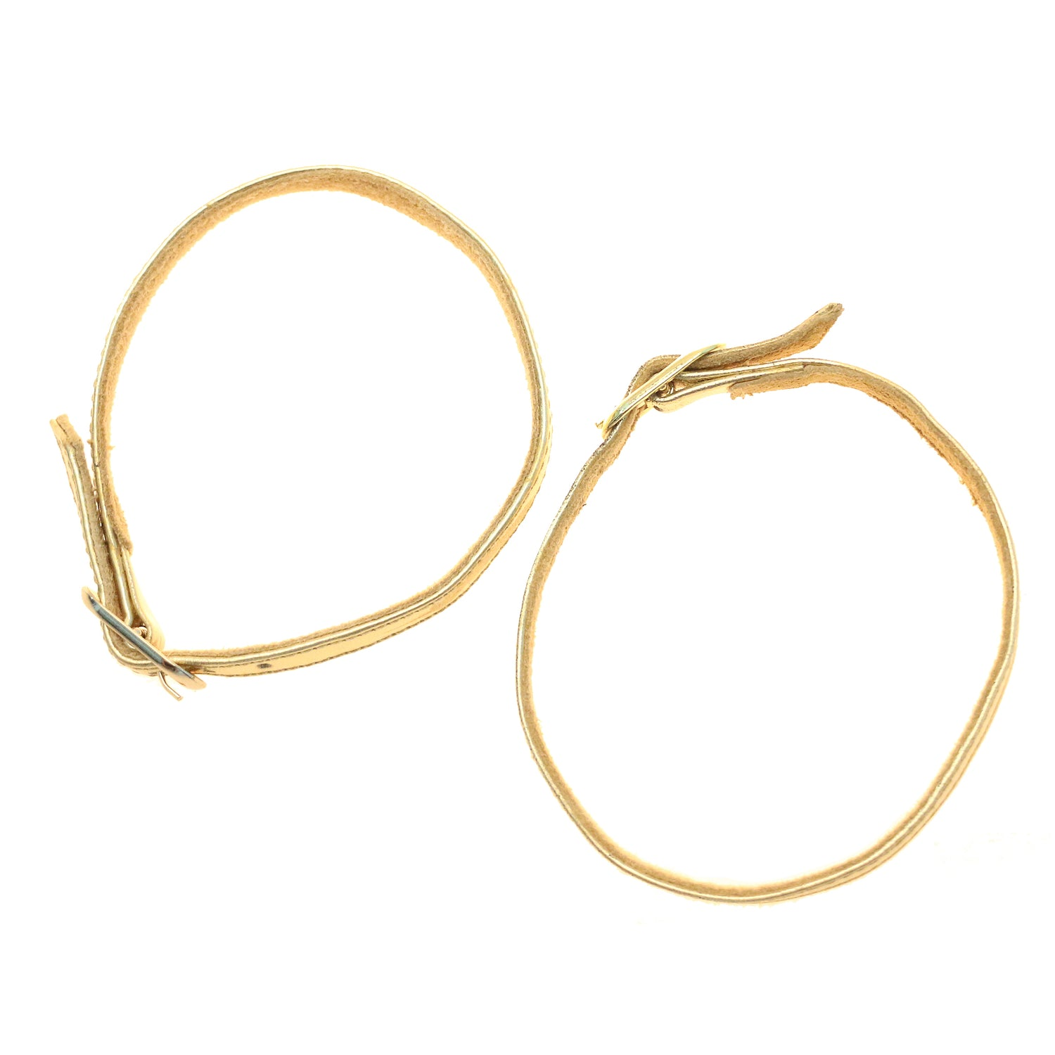 Replacement Gold Ankle Straps - Set of 2