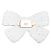 White Pearl Bow - Mystique Sandals