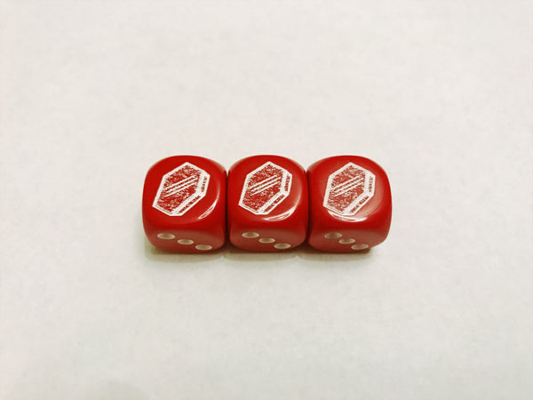 Coffin Dice *Red*