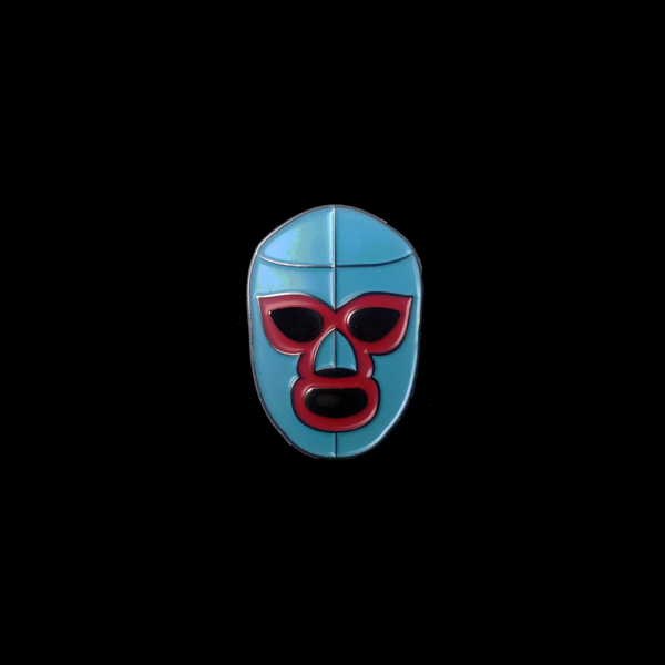 Lucha Mask Pin