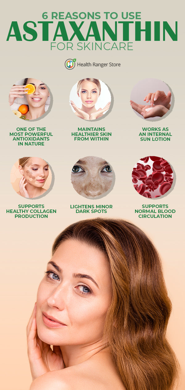 Astaxanthin For Skin Care