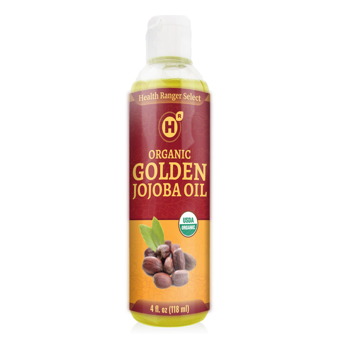 Organic Golden Jojoba Oil 4 fl oz (118ml)