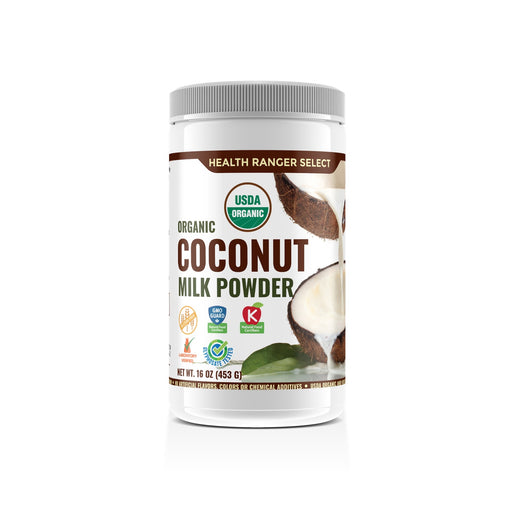 100% Organic Coconut Milk Powder 16oz (453g)