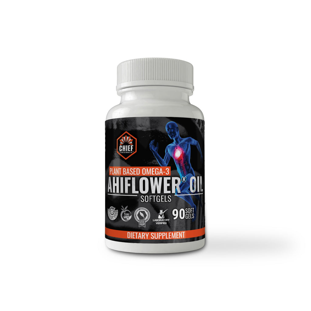 Ahiflower Oil 90 Softgels Plant Based Omega 3 6 9 Health