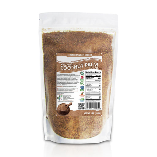 Organic Coconut Palm Sugar 1lb (453g)
