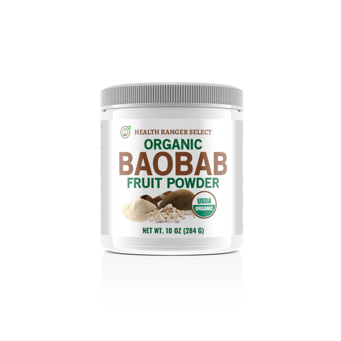 Organic Baobab Fruit Powder 10 oz (284 g) (3-Pack)
