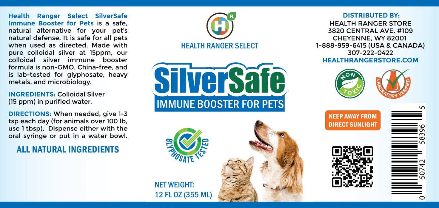 SilverSafe Immune Booster for Pets 12 fl oz (335 ml)