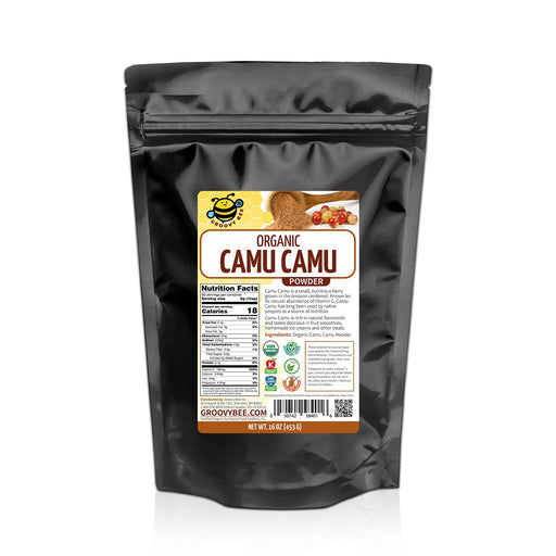 Groovy Bee® Organic Camu Camu Powder 16oz (453g)