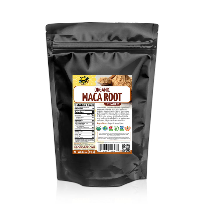 Groovy Bee® Organic Maca Root Powder 14oz (396g)