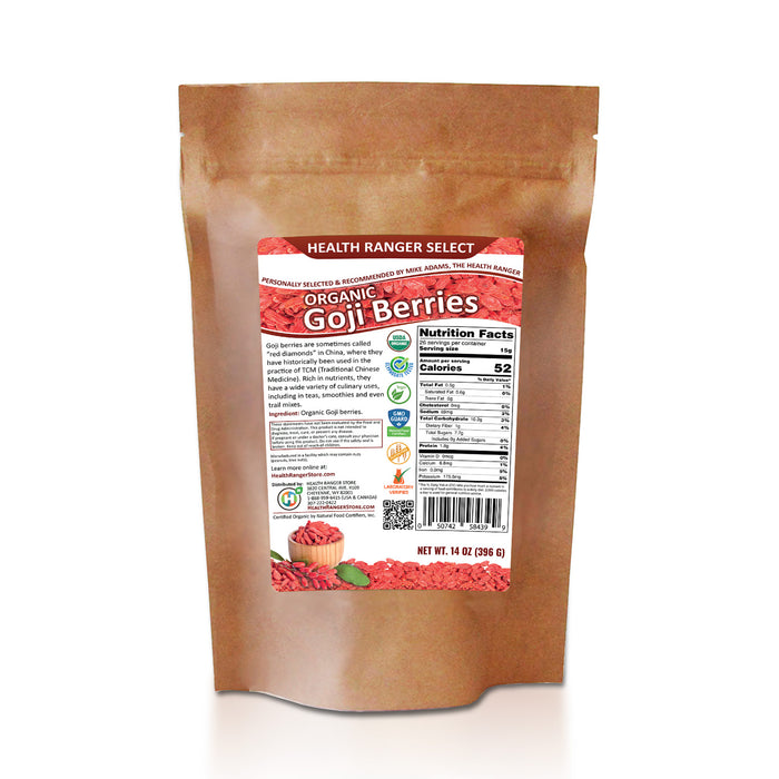 Organic Goji Berries 14 oz (396g) (6-Pack)