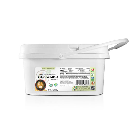 Mini Bucket Freeze Dried Organic Yellow Miso Powder 3 lb (1356g)