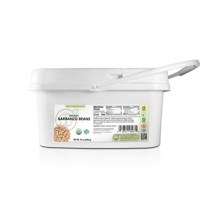 Mini-Bucket Organic Garbanzo Beans 75 oz (2125 g)