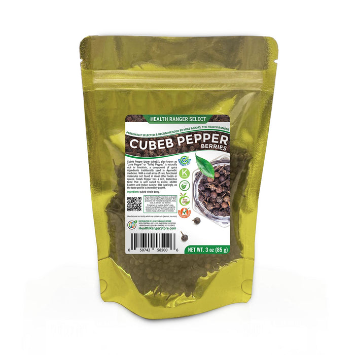 Cubeb Pepper Berries (Whole) 3 oz (85g)