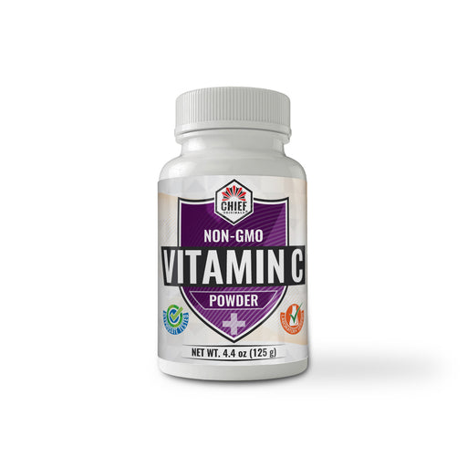 Non-GMO Vitamin C Powder 4.4oz (125g)