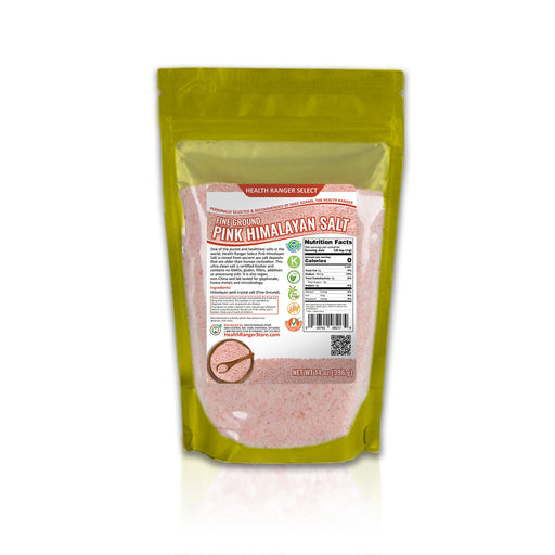 Pink Himalayan Salt Fine Ground 14 oz (396g)