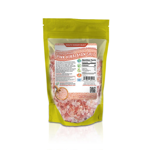 Pink Himalayan Salt Coarse Ground 14 oz (396g)
