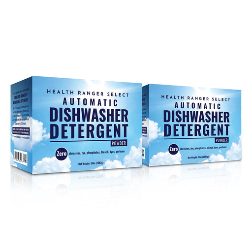 Automatic Dishwasher Detergent Powder 5lbs (2267g) (2-Pack)