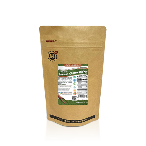 Organic Clean Chlorella SL Powder 10 oz (283g)