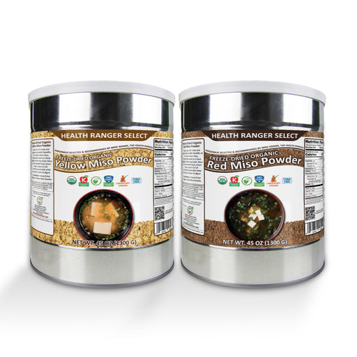 Freeze Dried Organic Red and Yellow Miso Powder (2-Pack)