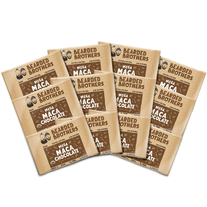 Mega Maca Chocolate Energy Bars (12 Pack)