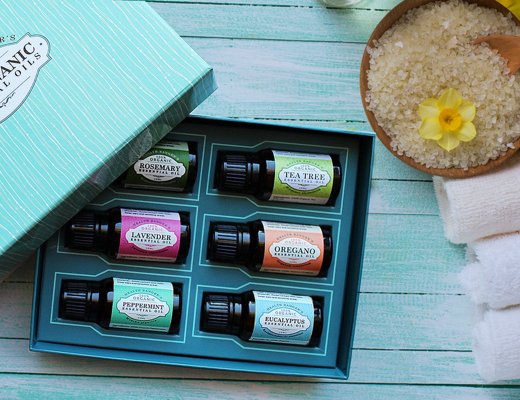 Health Ranger Select 100% Essential Oils 15ml (6-Pack Gift Set A)