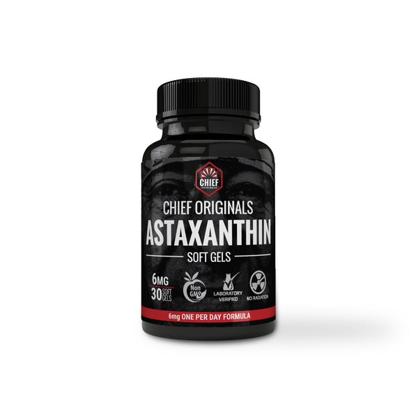 Astaxanthin 6mg 30 Softgels - Supports Joint, Skin & Eye Health