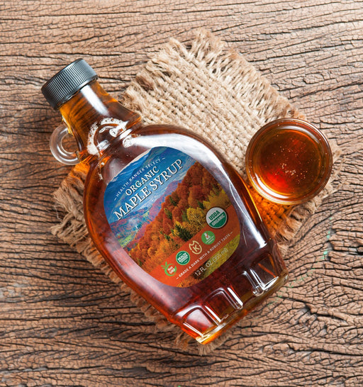 Premium Organic Maple Syrup 12oz - Grade A (355ml)