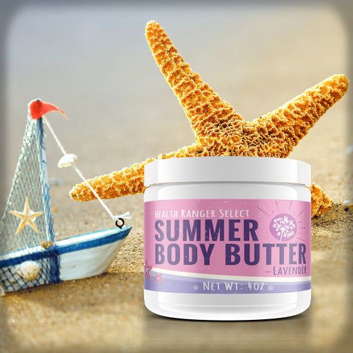 Summer Body Butter Lavender 4oz