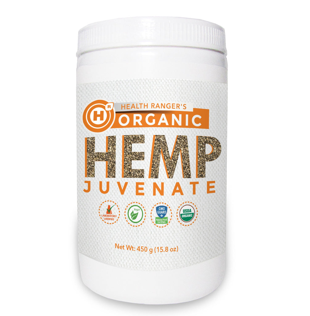 Health Ranger's Organic Hemp Juvenate 450g (15.8 oz)