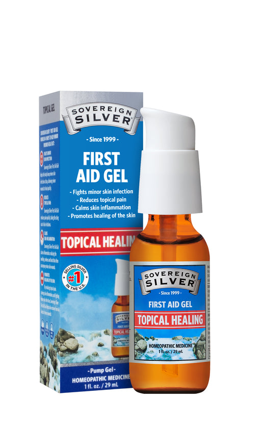 Sovereign Silver, Silver, First Aid Gel, 1 fl oz (29 ml)