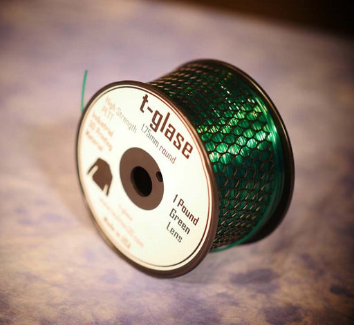 1.75mm t-glase filament for 3D printing- Green (1LB)