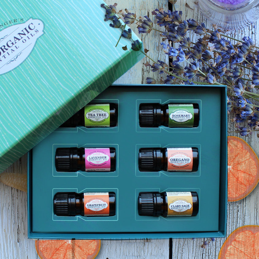 Health Ranger Select 100% Essential Oils 5ml (6-Pack Gift Set A)