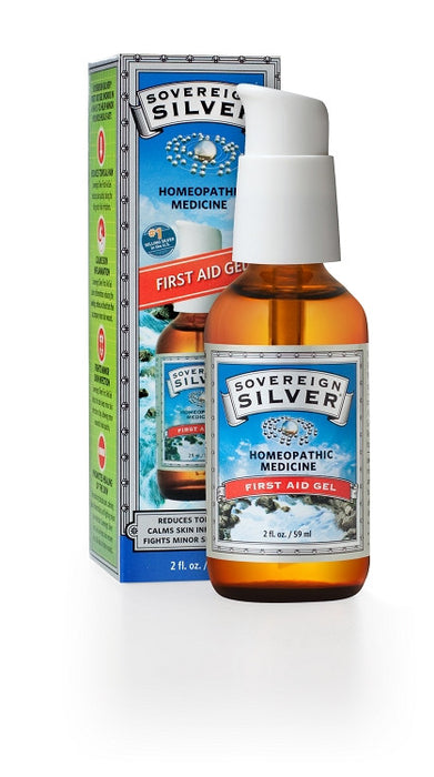 Sovereign Silver Silver First Aid Gel 2 oz