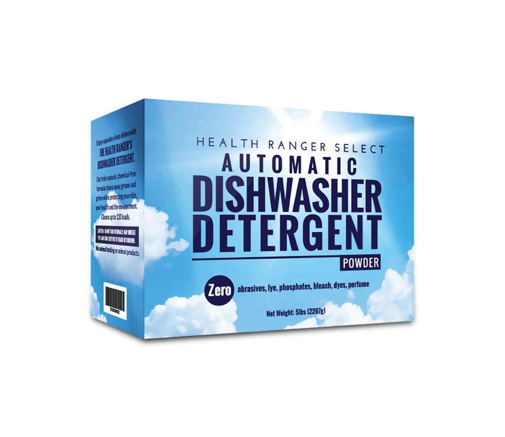 Automatic Dishwasher Detergent Powder 5lbs 2267g Health Ranger Store