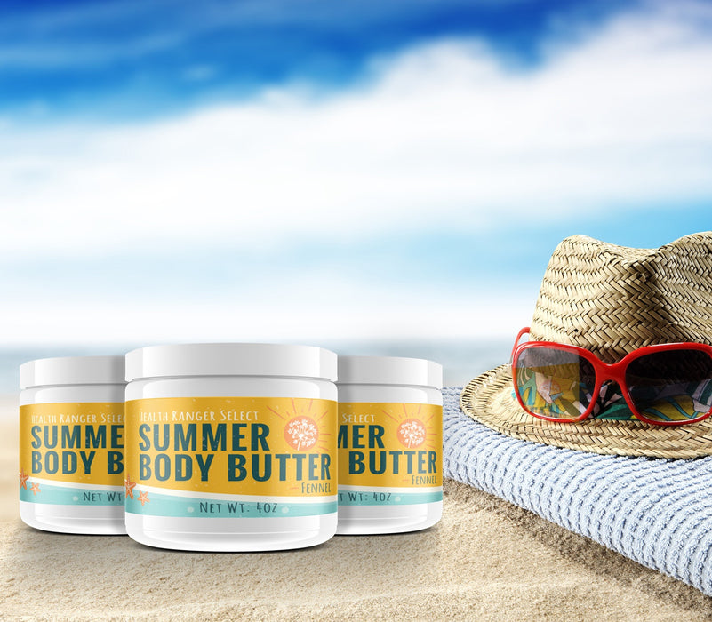Summer Body Butter-Fennel 4oz (3-Pack)